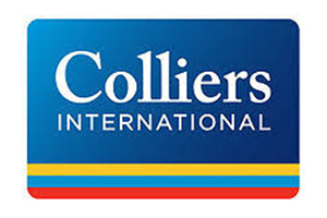 Image of the Colliers logo who PDC completed a Transport Planning project for