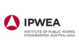 Image of the IPWEA logo of which PDC are a member alongside other Transport Planning companies