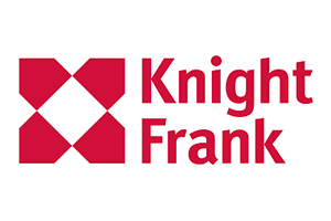 Image of the Knight Frank logo who PDC completed a Transport Planning project for