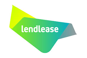Image of the Lendlease logo who PDC completed a Transport Planning project for