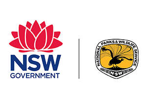 Image of the NSW Parks & Wildlife logo who PDC completed a Transport Planning project for