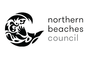 Image of the Northern beaches council logo who PDC completed a Transport Planning project for