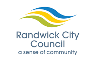 Image of the Randwick Council logo who PDC completed a Transport Planning project for