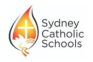 Image of the Sydney Catholic Schools logo who PDC completed a Transport Planning project for