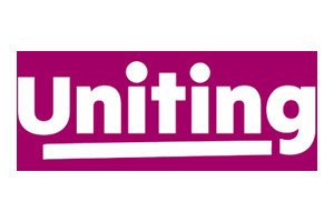 Image of the Uniting logo who PDC completed a Transport Planning project for
